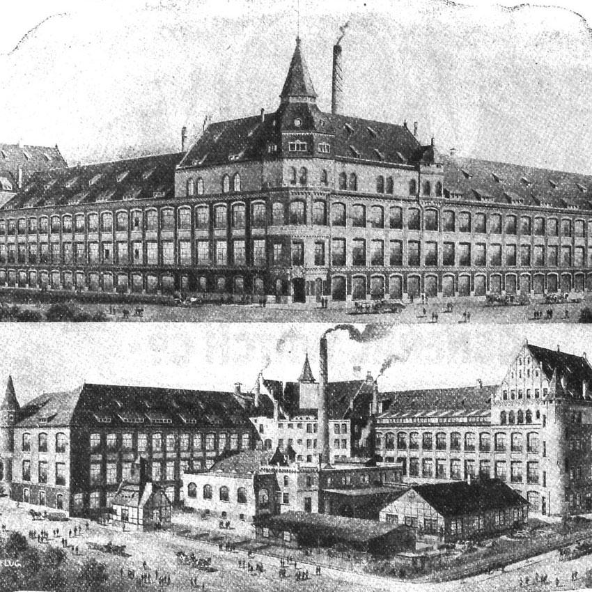 Kollmar & Jourdan Haus, Historie